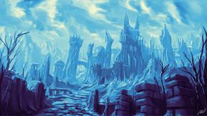 Castle Ruins - Commission