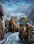 Caravan Dwarves - Commission