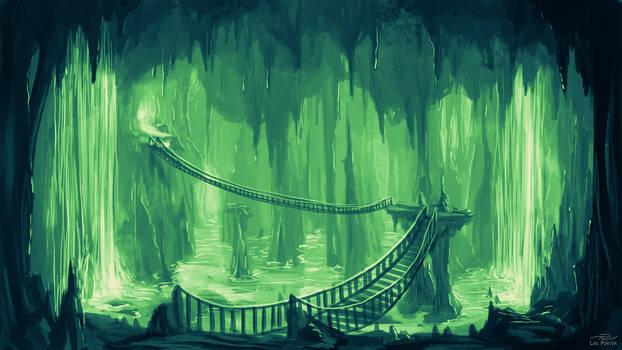 Underground Cavern - Commission