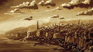 The Broken City of Paszlos - Commission