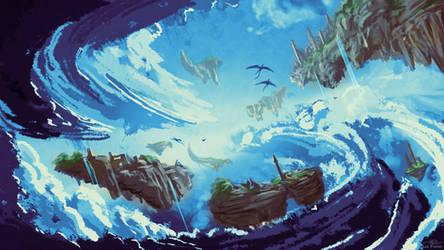 Sea of Mists - Commission