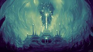Undersea Temple - Commission