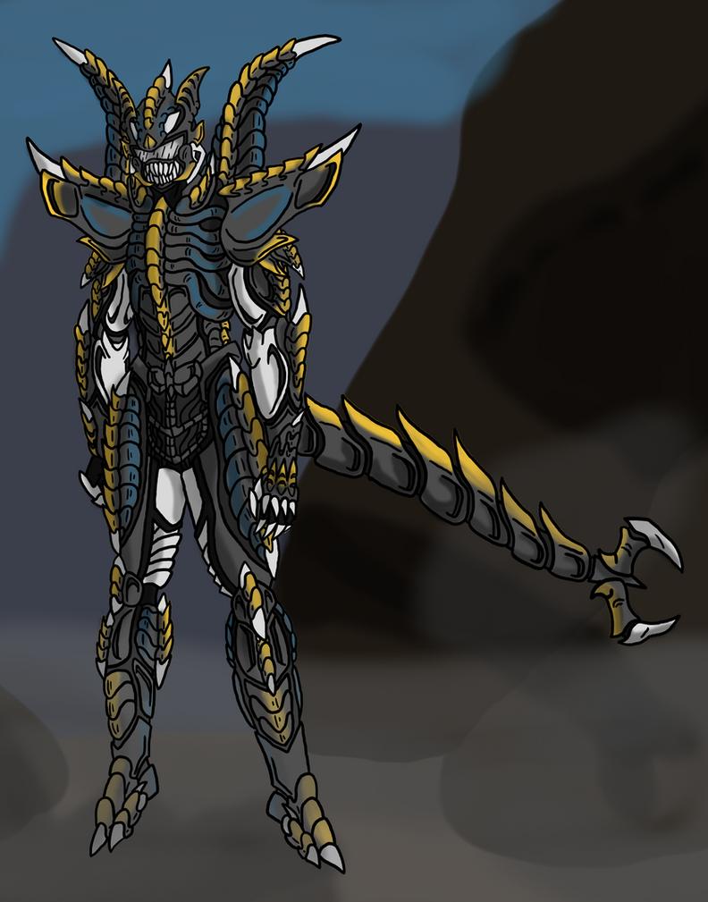 Xenomorph King by zeroviks