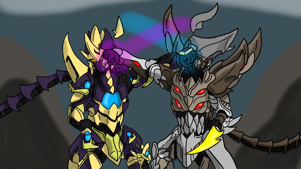 Battle of Gods by zeroviks