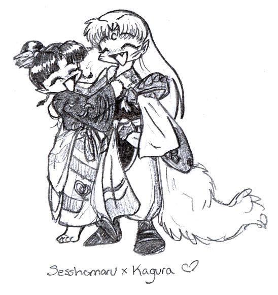 Sesshoumaru x Kagura for Liliy by neko-yasha