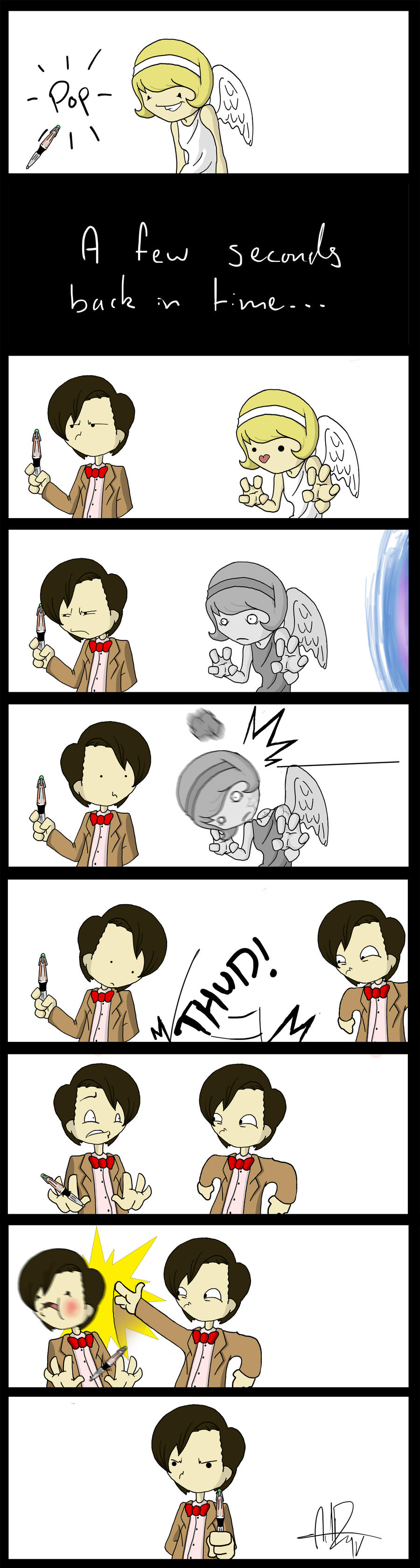 Matt Smith Doctor Who part 2 by Blizarro