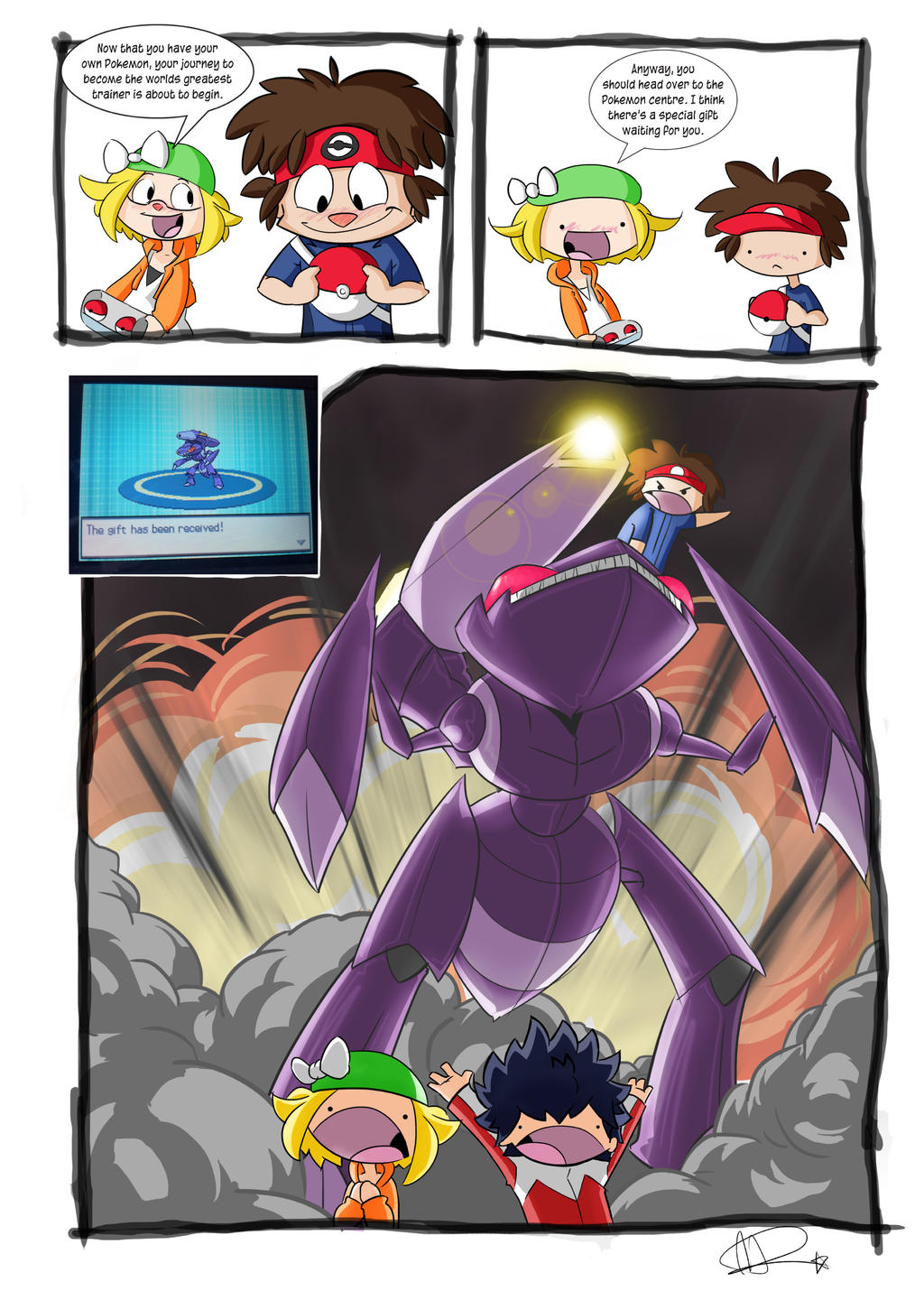 how to get genesect in pokemon oras