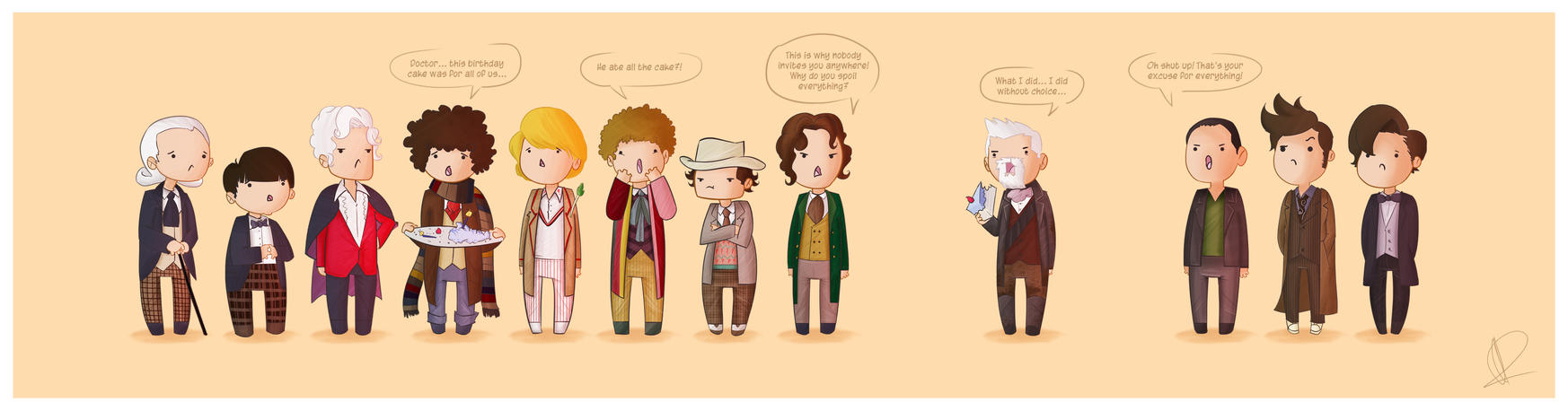 Doctor Who 50th Anniversary by Blizarro