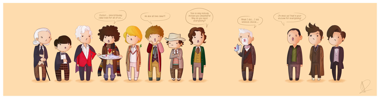 Doctor Who 50th Anniversary by Blizarro