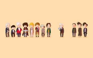 Doctor Who 50th Wallpaper by Blizarro