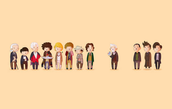 Doctor Who 50th Wallpaper
