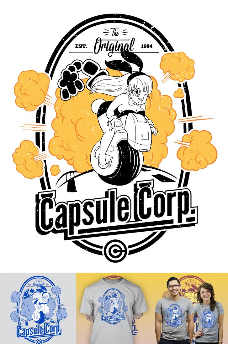 Capsule Corp. By Blizarro On DeviantArt