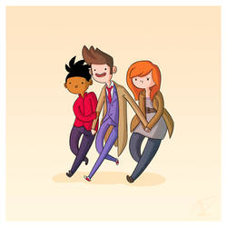 Adventure Time and Space! Tenth Doctor