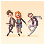 Adventure Time and Space! Eleventh Doctor