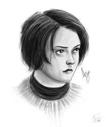 Arya Stark by Blizarro