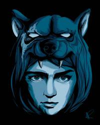 Arya and The Hound by Blizarro