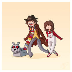 Adventure Time and Space! Fourth Doctor