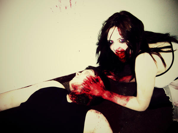 Zombie Bride IV by pspnerd