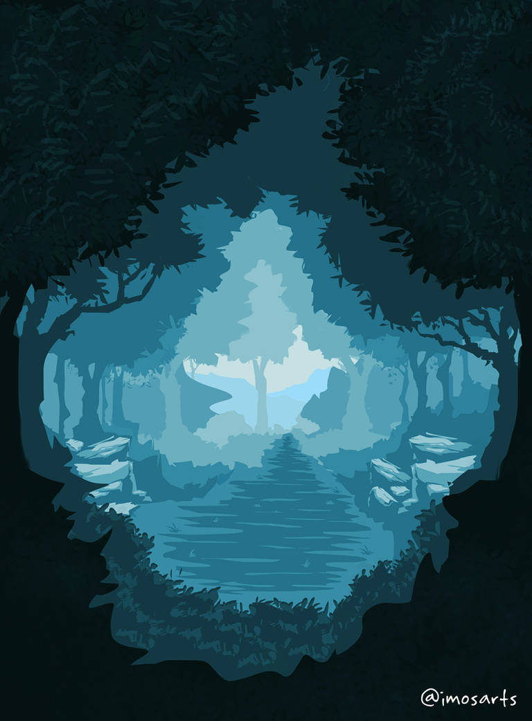 The Blue Forest by Somi05