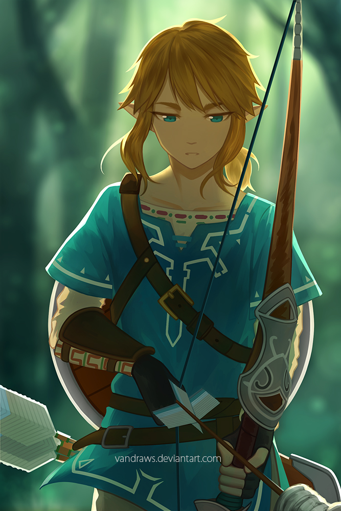 The Legend Of Zelda Breath Of The Wild By Vandraws On