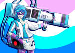 FAN ART: DJ Pon-3 and Bass Cannon (Speed Draw)