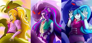FANART: DAZZLINGS with Siren Shadows