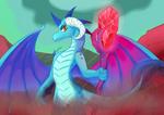 FanArt: Dragon Lord Ember by MantarWolf