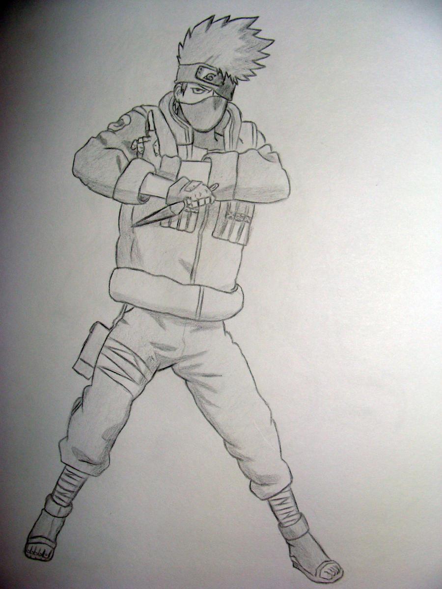 Hatake Kakashi drawing by kakashiz on DeviantArt