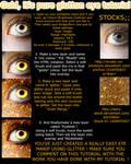Goldglitter eye manip TUTORIAL