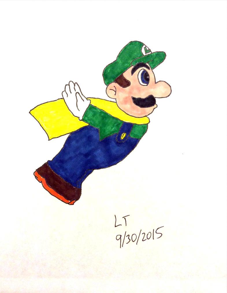 Caped Luigi by L1701E