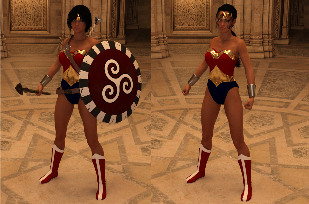 Wonder Woman Prototypes by will2power71