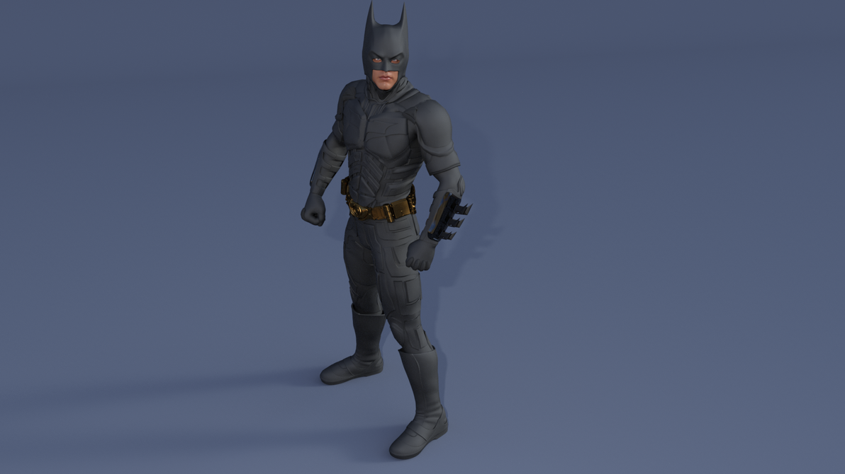 The Dark Knight Rigged with Cowl by will2power71