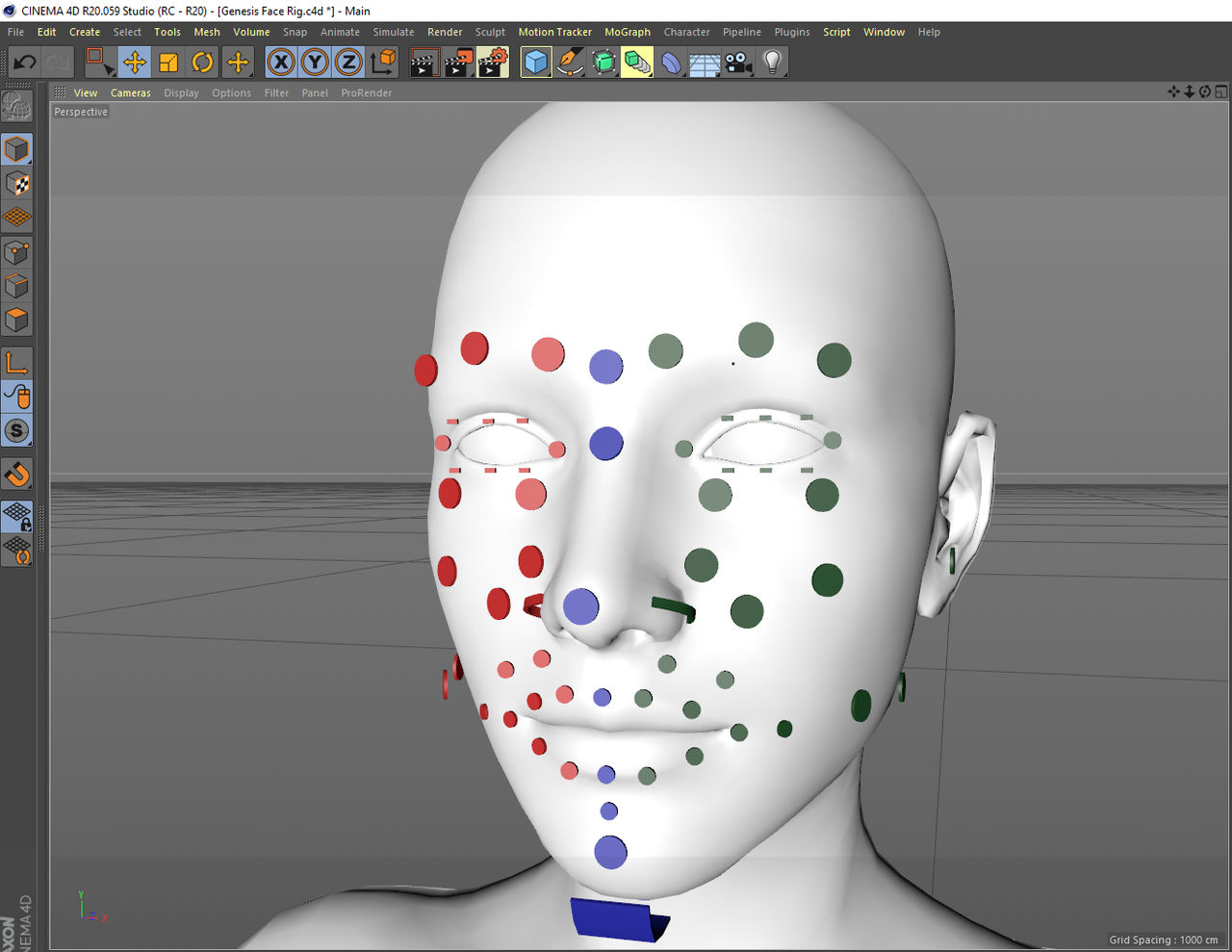 Genesis 8 Face rig