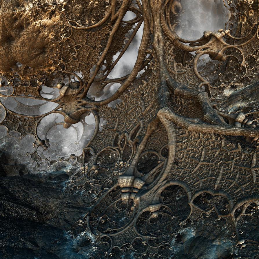 Octopus Dragon's Lair by MANDELWERK