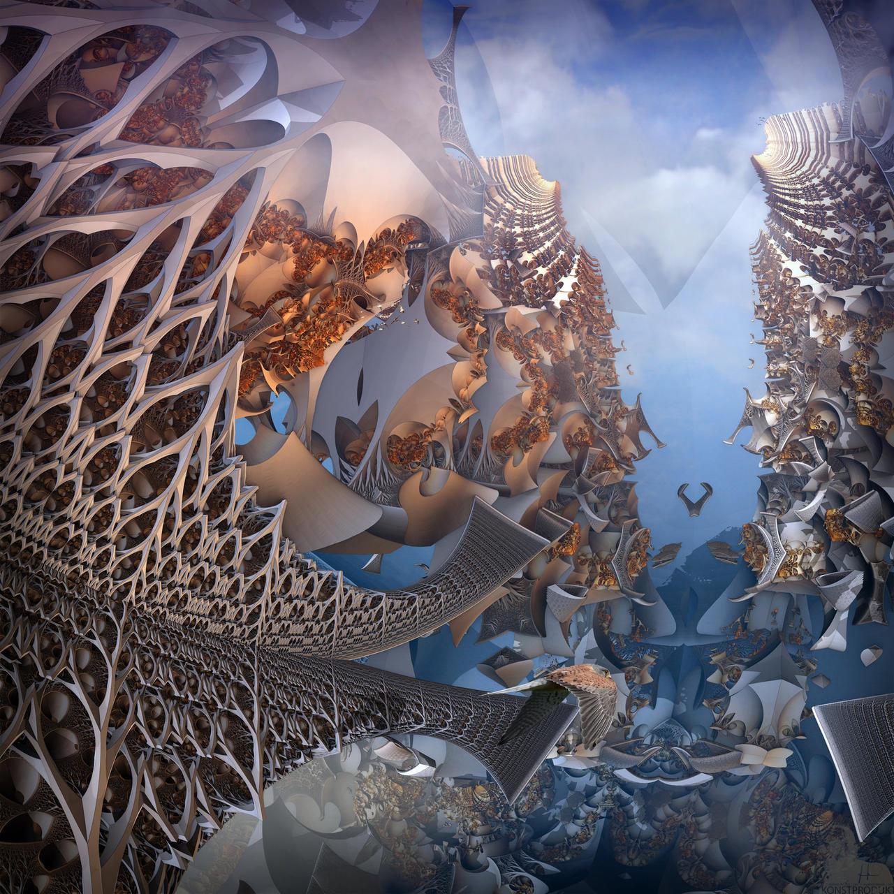 Dimension Attractor Thirteen by MANDELWERK