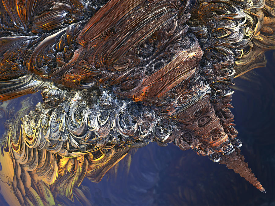 The Spine Within Mandelbulbs by MANDELWERK