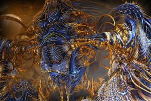 Royal Monstrous Coagulation by MANDELWERK