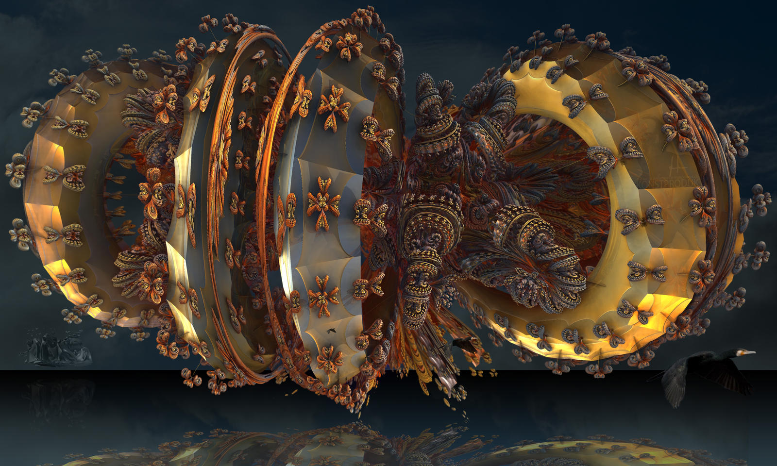 Baroque Furniture Tornado by MANDELWERK