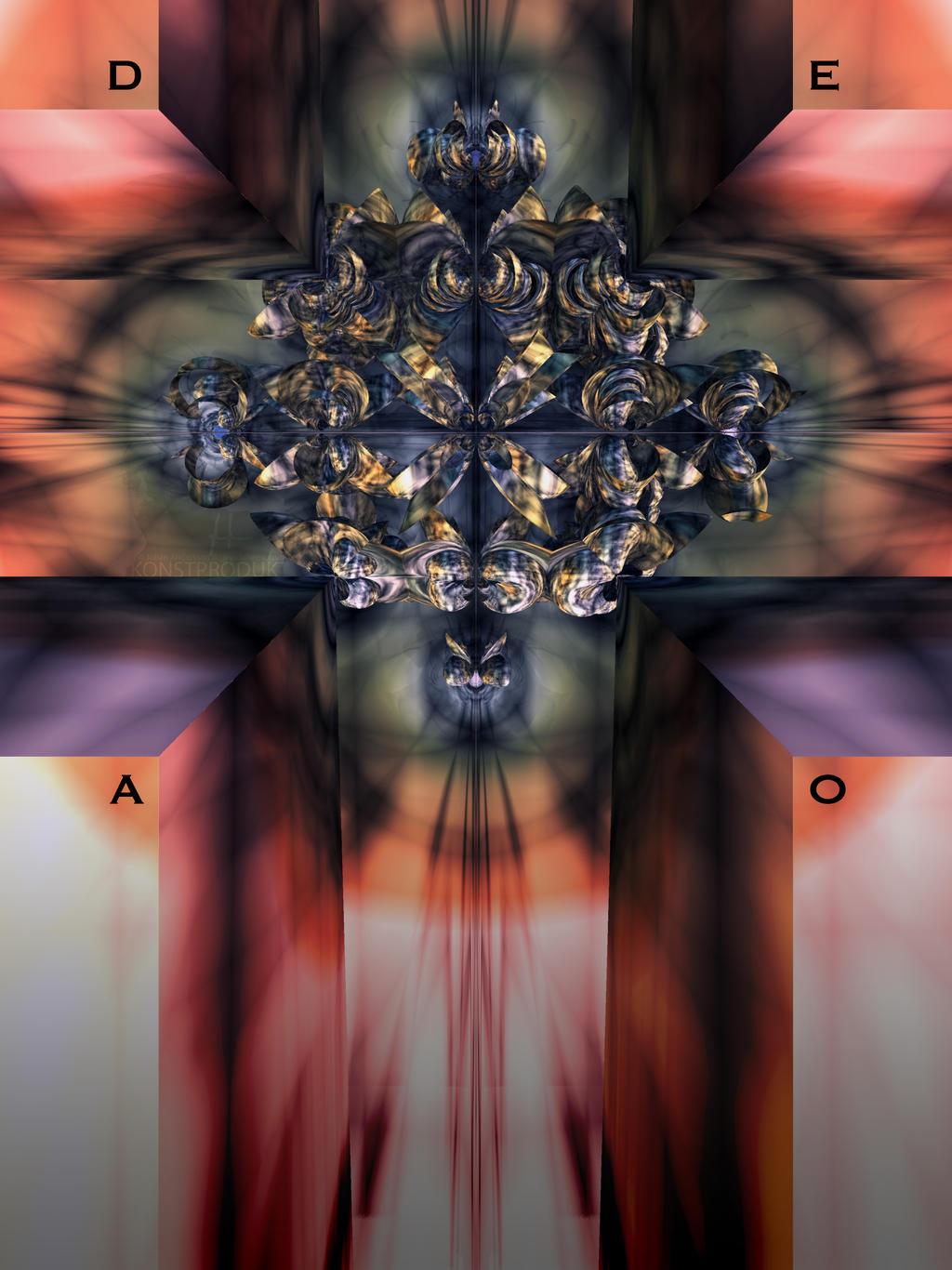 D . E . A . O . Crucifix