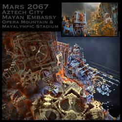 Aztech City by MANDELWERK