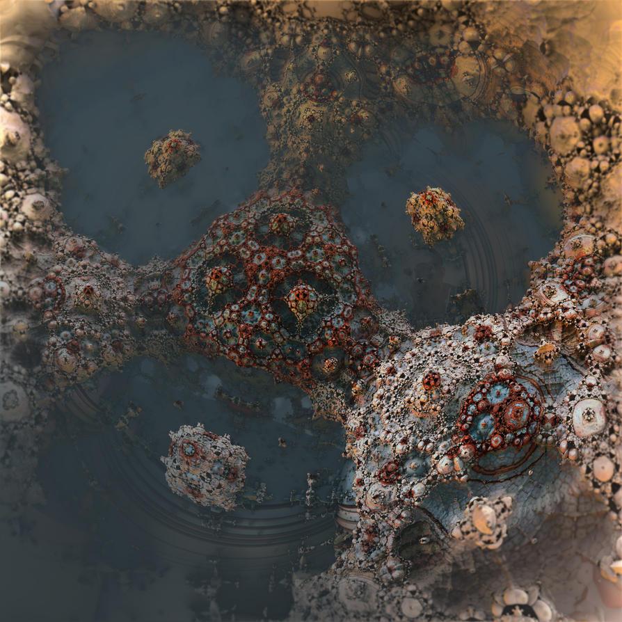 Tri-pond Fungus Abyss by MANDELWERK