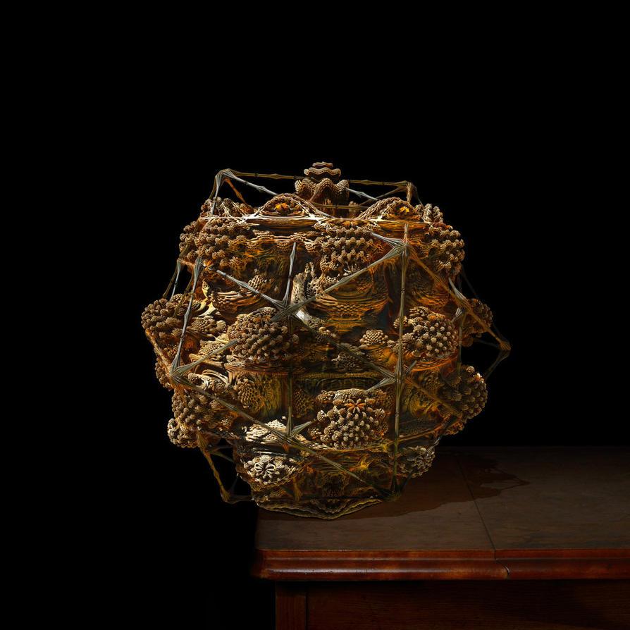 Basket of bread by MANDELWERK