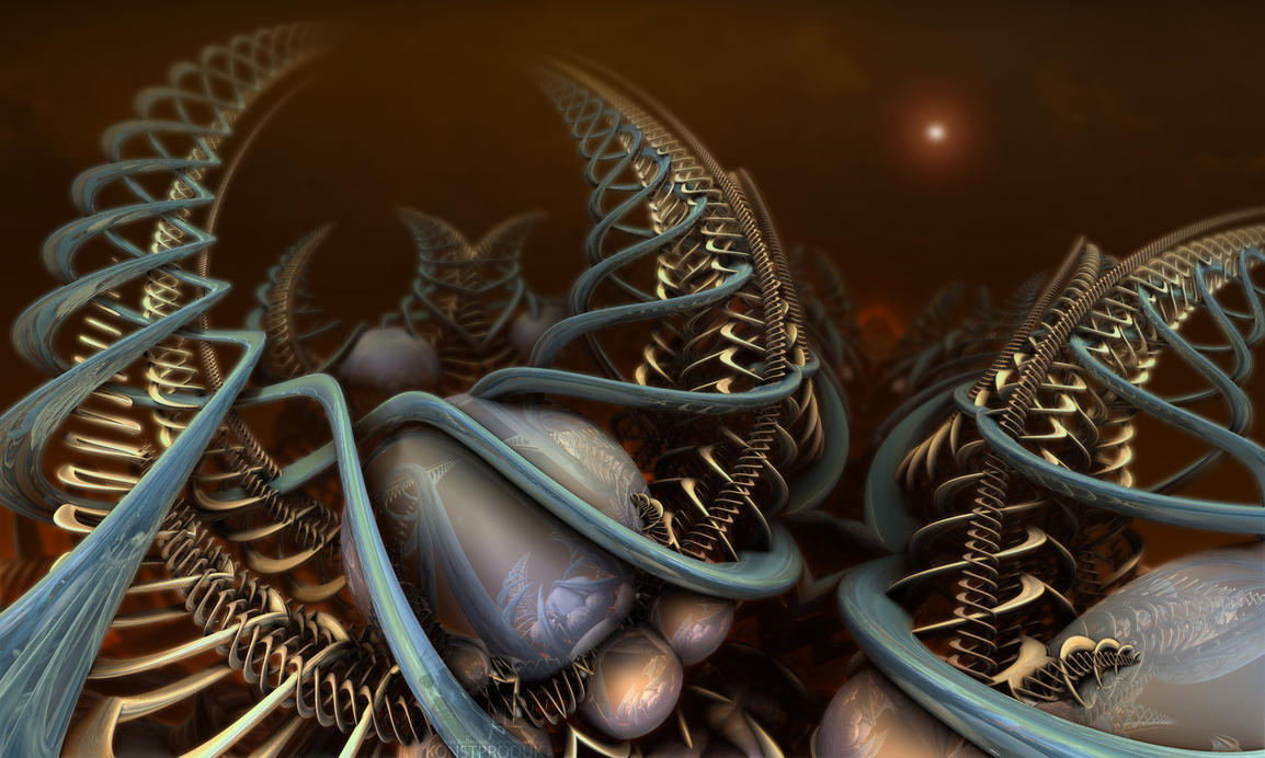 Triassic Deoxyribonucleic Superstrings by MANDELWERK