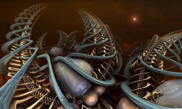 Triassic Deoxyribonucleic Superstrings