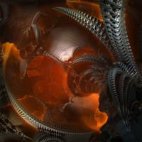 Cosmic Clockwork Meltdown by MANDELWERK