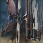Concubines of war in circular windows by MANDELWERK
