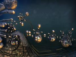 Disciples Descending at the speed of light by MANDELWERK