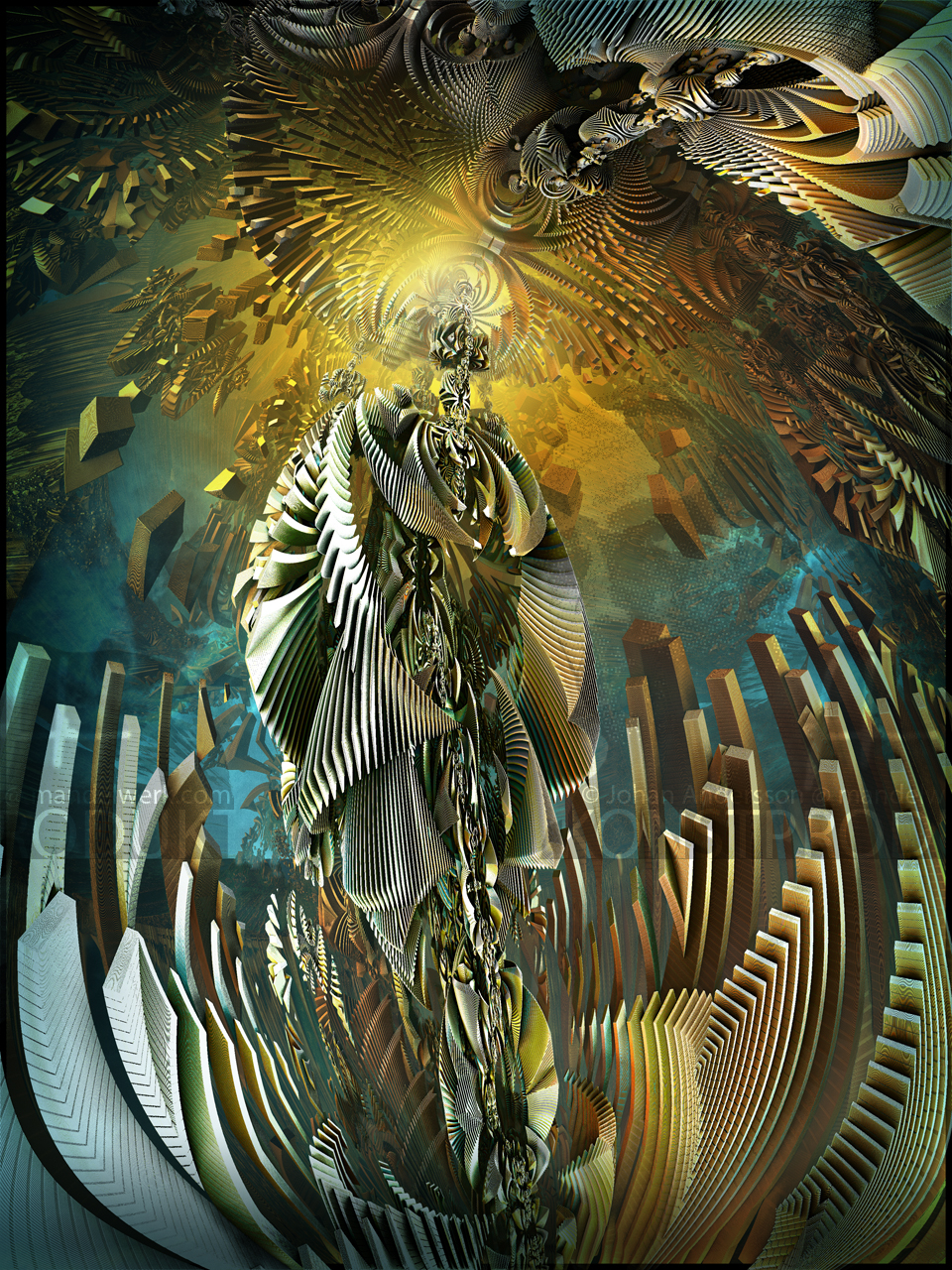 Resurrection of the Madonna of the Nuclear Bomb by MANDELWERK