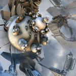 R-54360 Wasp Mandelbrot Radial Engine
