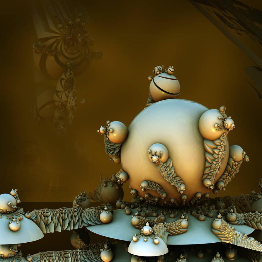 The infinitely replicating slugs of ignorance... by MANDELWERK